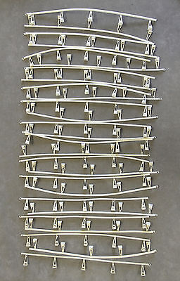 Vintage 1960s Scalextric Track side White Fences/ Crash Barriers A246 (x27)