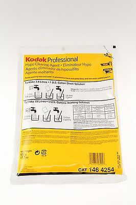 Kodak Hypo Clearing Agent Powder Makes 5 Gallons (NOS) Hypo-clear