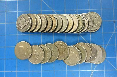 Flying Eagle Cents 1857-1858 - Lot Of 27 Low Grade Coins