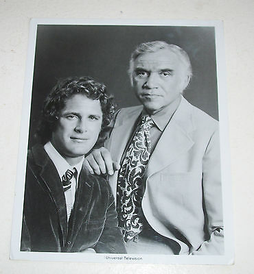 Bonanza Photo – Lorne Greene and Ben Murphy