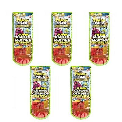 The Trash Pack Series 7 set of 5 Mystery Packs