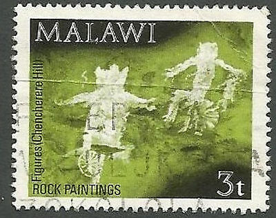 Malawi Scott# 186, Figures, Chencherere, 3t, Creased, Used, 1972