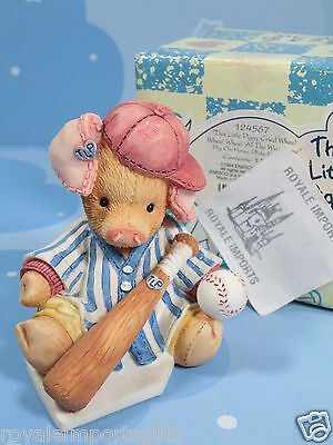 This Little Piggy Cried Whee All The Way Home Baseball Player 124567 + Box