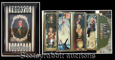 NEW Friday the 13th JUMBO Haunted Mansion Pin STRETCHING PORTRAITS MINT