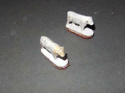 American Flyer - Post-War - Operating Stock Yard Corral- White Cows- 2 -H66