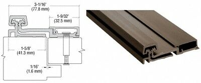 """Dark Bronze Anodized 150 Series Heavy-Duty Full Surface Continuous Hinge - 83"""""""