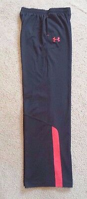 Youth Boys Under Armour Loose Athletic Fitness Pants   Sz Ylg  ** Excellent **