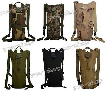 3L Water Bladder Bag Hydration Backpack Camelbak Pack Hiking Camping OE