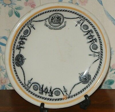 Monteleone Hotel New Orleans Antique Butter Pat Plate Free Ship