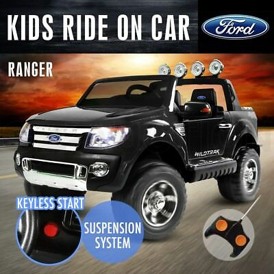 Kids Children Electric Ride On Car Style 2 Speed Ranger Remote Control Toys