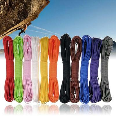 100FT 550 Paracord Parachute Cord Lanyard Desert Survival Type III 7 Strands#BY