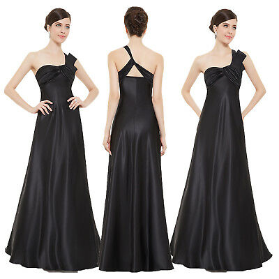 Womens Maxi Homecoming Dress Evening Prom One Shoulder Dress 09667 Ever-Pretty