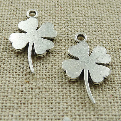 Free Ship 180 pieces tibetan silver bunge bedstraw herb charms 21x12mm #467