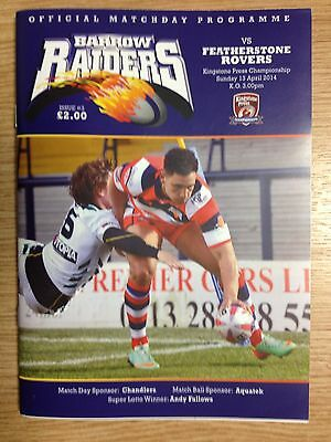 2014 Barrow Raiders v Featherstone Rovers