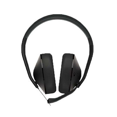 Microsoft S4V-00011 Black Xbox One Stereo Gaming Headset