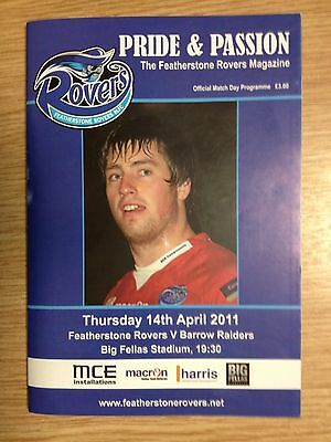 2011 Featherstone Rovers v Barrow Raiders