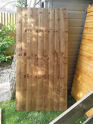 6ft x 3ft universal featheredge gate