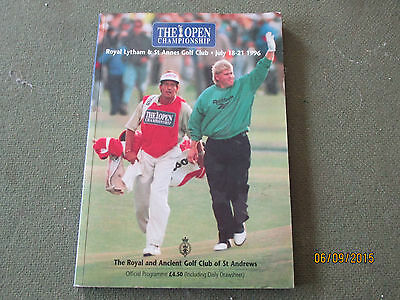 The Open championship 1996 - official programme July 18-21 1996
