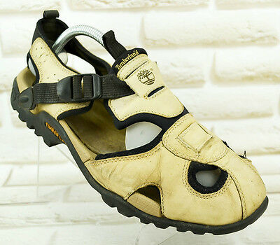TIMBERLAND Leather Mens Walking Outdoor Sandals Summer Shoes Size 8.5 UK 42.5 EU
