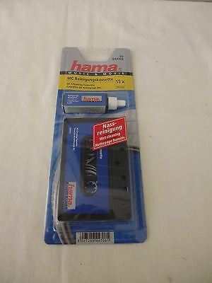 Hama Ac Cleaning Cassette - Wet Cleaning - New In Packet