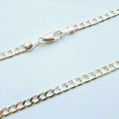 """silver chain for Men Teenager Boys 16""""ins 24""""in 28""""in length silver necklace kid"""