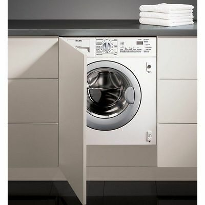 AEG L61470WDBI Fully Integrated 1400 Spin 7kg All-in-One Condenser Washer Dryer