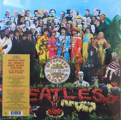 The Beatles Sgt. Pepper's Lonely Hearts Club Band 2/LP Vinyl 50th ANNIVERSARY