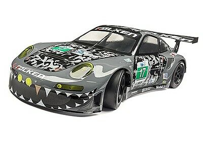 #114643 HPI RACING FALKEN PORSCHE 911 GT3 RS BODY SHELL (PAINTED/GRAY/200mm)