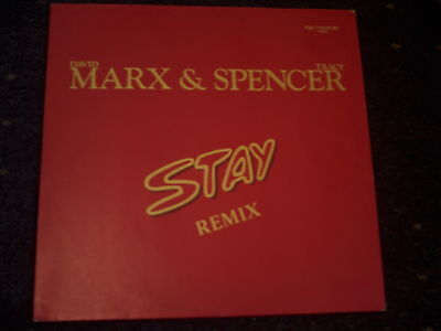 "Marx & Spencer-Stay Remix 12"" Single -"