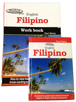 Learn Filipino tagalog work book and phrasebook learn to speak tagalog