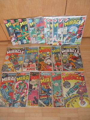 Mister Miracle 1 - 25 complete  Jack Kirby   US DC Comics  1971