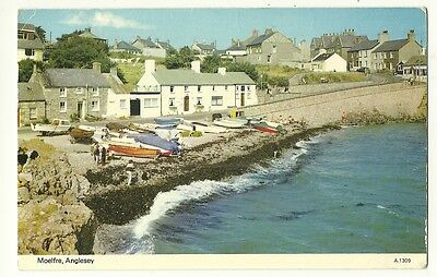 Moelfre - a photographic postcard of Moelfre