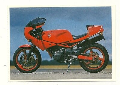 Gilera Saturno Motor Cycle - a larger format, photographic postcard