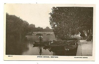 Bedford - a photographic postcard of the Stone Bridge