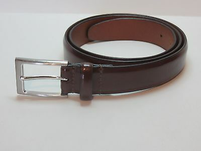 "M&S Leather Belt - Brown - Size 36-38"" - Excellent Condition"