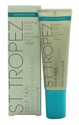 St Tropez Self Tan Untinted Bronzing Face Lotion - Women's For Her. New