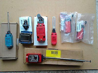 Safety / Limit Switches Misc' Types, Job Lot 7 Items