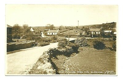 Glenluce - a photographic card of Port William Road End