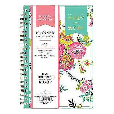 Day Designer for Blue Sky 2017-2018 Academic Year Weekly & Monthly Planner,