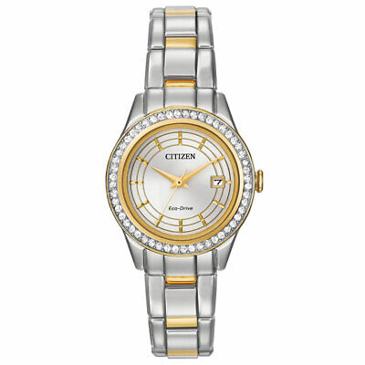 Citizen FE1124-58A Ladys Silhouette Eco-Drive Two Tone Steel Watch