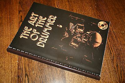 The Art of the Drummer Vol. 1 with CD Spiral Bound Drum Instruction book Savage