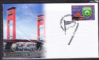 Indonesia 2009 Sumatera Selatan Province  First Day Cover