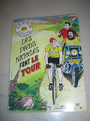 BD /1983 ALBUM n°5 LES PIEDS NICKELES  FONT LE TOUR (DE FRANCE ) DESSINS JACARBO