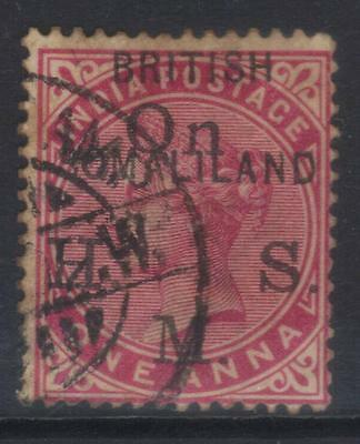 Somaliland 1903 Official Sg02 Used Cat £18