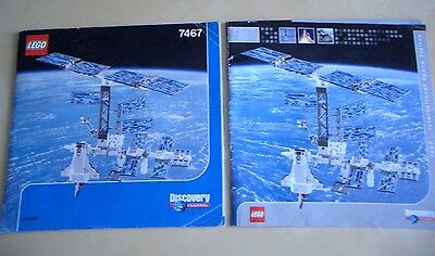 Lego espace space set 7467 discovery channel notice bauanleitung instruction