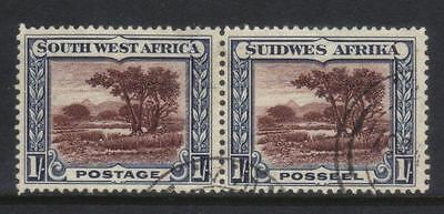 South West Africa 1931 Defins Sg80 Used Pair Cat £18