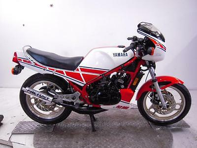 1985 Yamaha RZ350LC YPVS Unregistered US Import Barn Find Classic Restoration