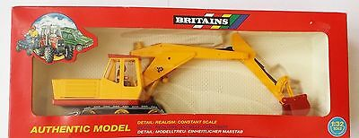 Britains JCB tracked excavator 9602 - nr mint in box  -  1/32