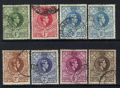 Swaziland 1938-1954 Defins 8 Used Values