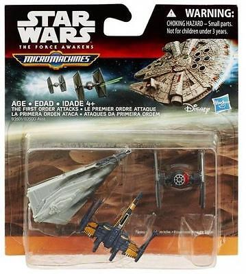 Hasbro Star Wars B3501 Micro Machines The Force Awakens The First Order Attacks